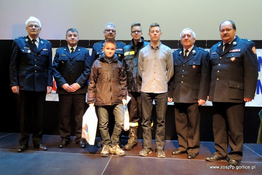 Reprezentanci powiatu gorlickiego w elimnacjach wojewódzkich konkursu Młodzież zapobiega pożarom