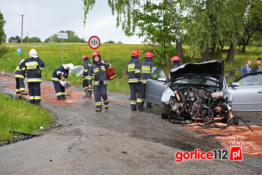Bystra: kolizja dwóch Audi na tzw. Pasterniku
