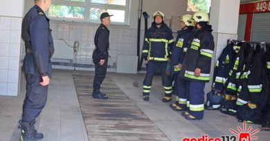 Komenda Powiatowa PSP w Gorliach przeprowadza kontrole