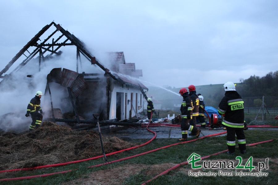 Fotografia ilustrująca pożar w Pagorzynie