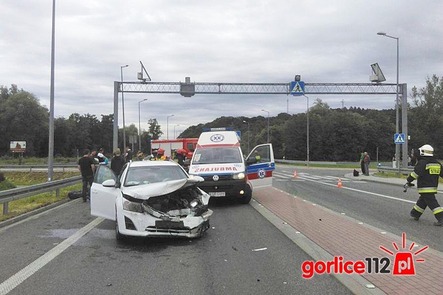 Wypadek na DK nr 28 w miejscowości Biecz. 07.06.2017
