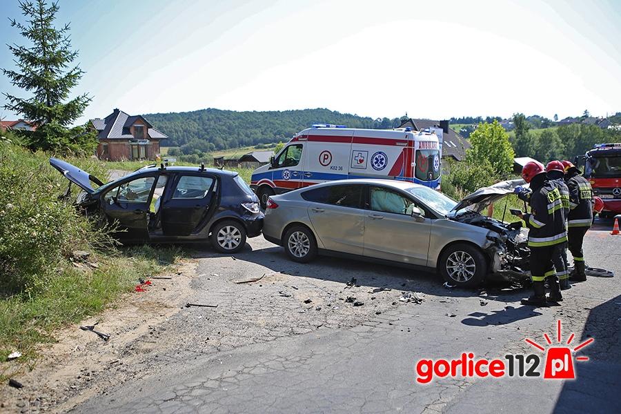 Wymuszenie pierwszeństwa w miejscowości Bystra (Pasternik)