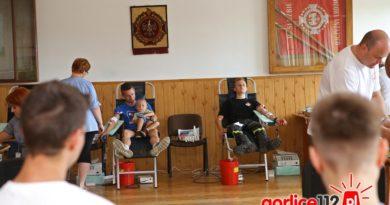 Strażacy i nie tylko oddali krew w remizie OSP Biecz