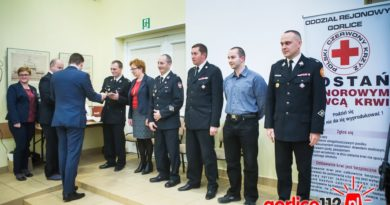 W Gorlicach doceniono krwiodawców, dawców szpiku oraz animatorów ruchu HDK