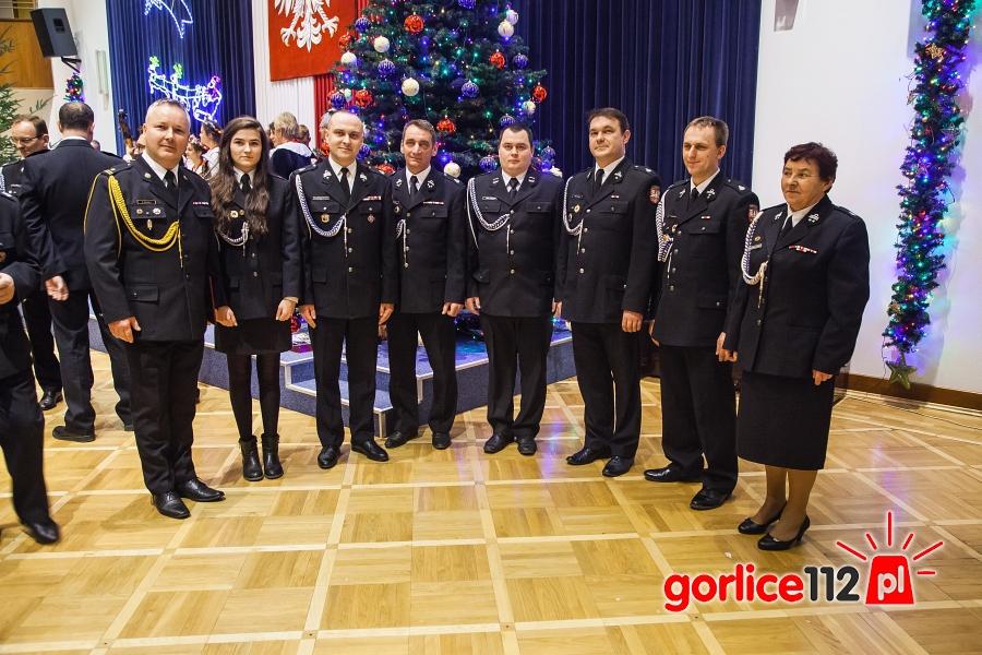 Gorliccy strażacy połamali się opłatkiem w Tarnowie