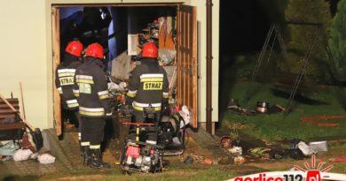 Moszczenica: wybuch gazu w domu jednorodzinnym