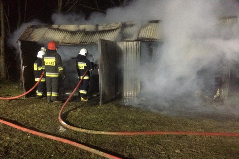 Straż pożarna interweniowała dwa razy zaraz po północy!