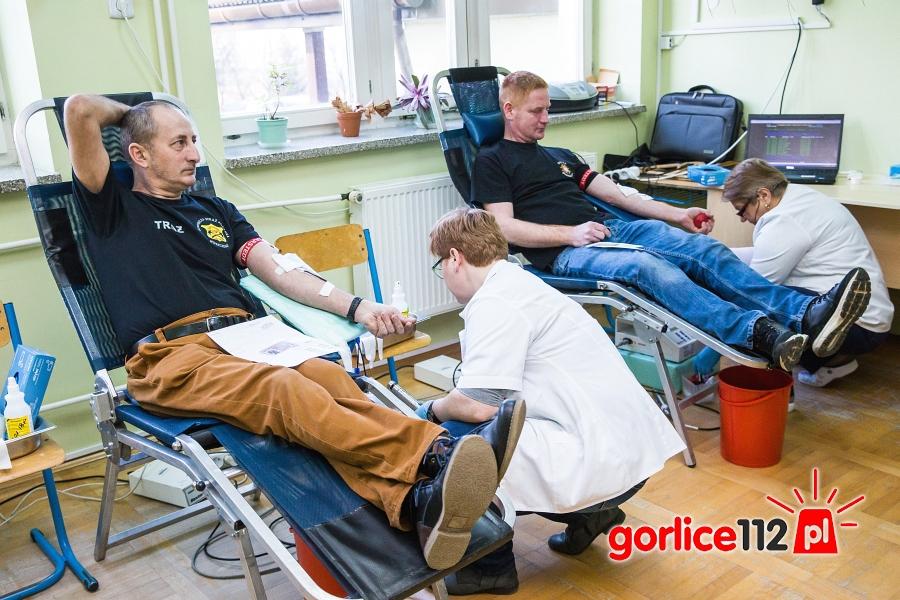 Zbiórka krwi zorganizowana przez kluby HDK OSP Kwiatnowice oraz OSP Kobylanka.