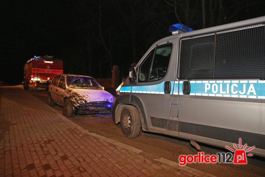 OSP Zagórzany najechali na zdarzenie drogowe