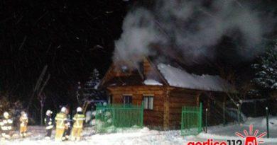 Klimkówka: pożar dreniwanego domu