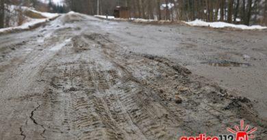 Biesnik: mieszkańcy apelują ws. fatalnego stanu drogi powiatowej (interwencja gorlice 112.pl)