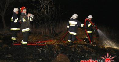 27 03 2018 - pożar szopy - Uście Gorlickie