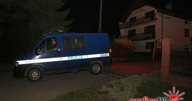 Mszanka: policja czeka na przyjazd grupy do zabzpieczenia śladów przy włamaniu