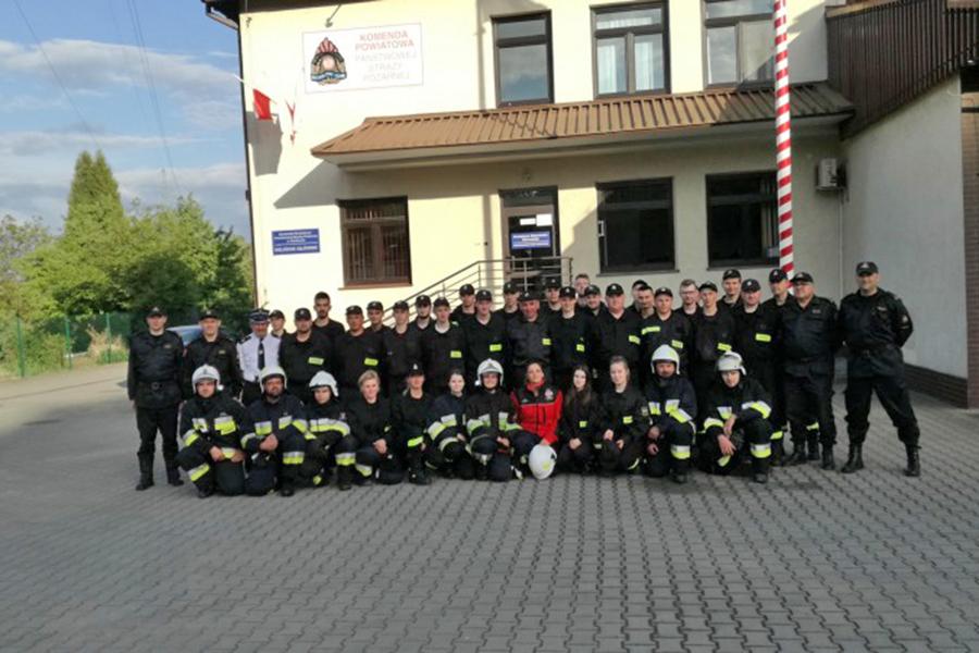 Powiat gorlicki: 38 druhów ukończyło podstawowy kurs