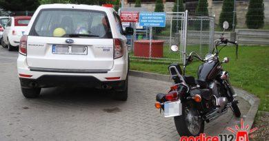 Ropa: kolizja motoru z Subaru przy stacji paliw