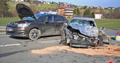 Ropa: wypadek trzech pojazdów!