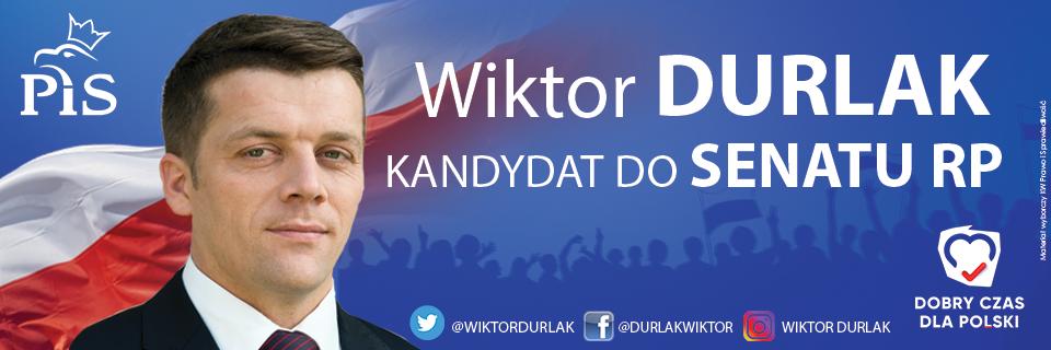 Wiktor Durlak kandydat do SENATU