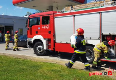 Ropa: strażacy interweniowali na stacji paliw. Winne nieszczelne przewody paliwowe!