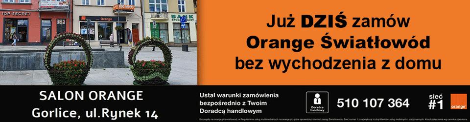 Światłowód Orange Gorlice, powiat gorlicki