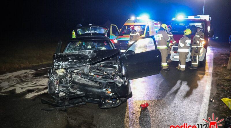 Biecz: wypadek na drodze wojewódzkiej nr 980. Jedna osoba ranna! (ZDJĘCIA, WIDEO)