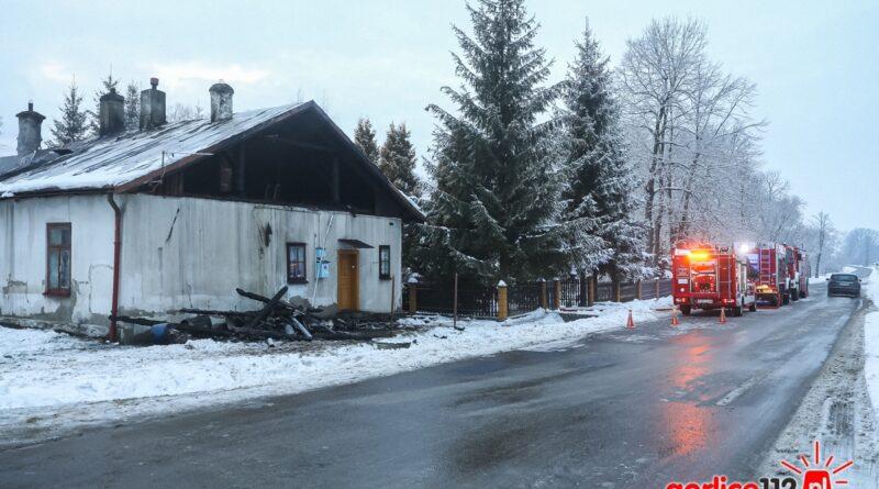 Trwa czarna seria pożarów w powiecie. Nie żyją dwie starsze osoby w Lipinkach!